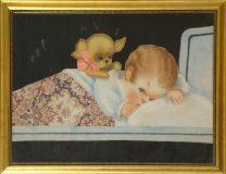 Kind mit Hündchen (N.N.)