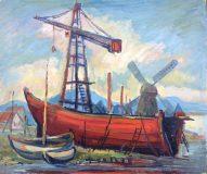 Werft auf Marstrand (Erwin Enderle, 1956)