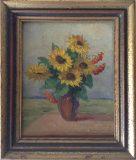 Stillleben mit Sonnenblumen (Albert Fiebiger)