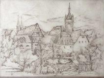 Ansicht von Wimpfen (N.N.)