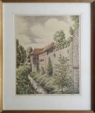 Am Schlossgraben in Kirchheim/Teck (Friedrich Veyl)