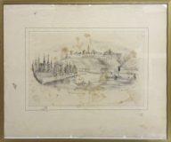 Ansicht von Wimpfen (O. Breuning, 1843)