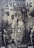 """Plakatentwurf """"Radio Bagdad"""" (Szandor Vincent Scharsich, 1994)"""