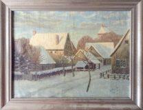 Winterliche Stadt (G. Kolleck, 1924)