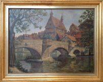Alte Besigheimer Enzbrücke (W. Schindler, 1932)