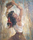 Tanzende Zigeunerin (V. Foquet)