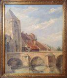 Stadtansicht mit Brücke (Suzanne Gruny)