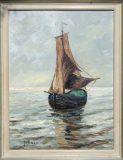 Segelboot (Max Kosmas Zahner)