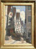 Altstadtszene (Arthur Schmidt-Reutlingen, 1905)