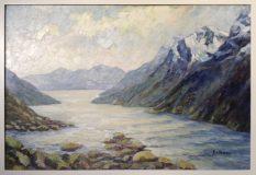 Norwegische Fjordlandschaft (Max Kosmas Zahner)
