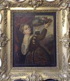 Mädchen mit Fruchtschale (Kopie nach Tizian)