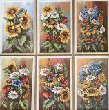 Sechs kleine Blumenbilder (Kurt Krieger)