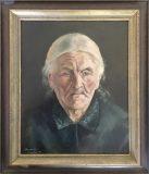 Bildnis einer alten Frau (Anneliese Paulus, 1949)