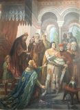 Barbarossas Kniefall vor Heinrich dem Löwen (Kopie nach Hermann Wislicenus)
