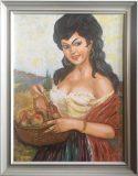 Zigeunerin mit Apfelkorb (Wagl, 1981)