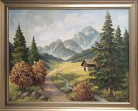Alpenszene (Max Kosmas Zahner)