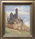 Ansicht der Burg Hornberg (G. Simon)