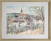 Ansicht von Odenheim (Hans Orschel)