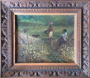 Bild mit zwei Frauen (N.N., 1985)
