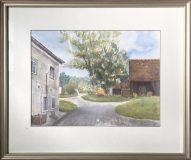 Bauerngehöft bei Gundelsheim (Gertrud Rückert, 1987)