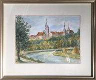 Ansicht von Bad Wimpfen (Gertrud Rückert, 1982)