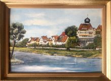 Ansicht von Jagstfeld (Waltraud Bieser)