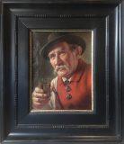 Trinkender Bauer (Alois Binder)