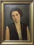 Frauenbildnis (Ioan Cardei, 1929)