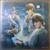 Drei Kartenspieler (W. Schindler, 2004)